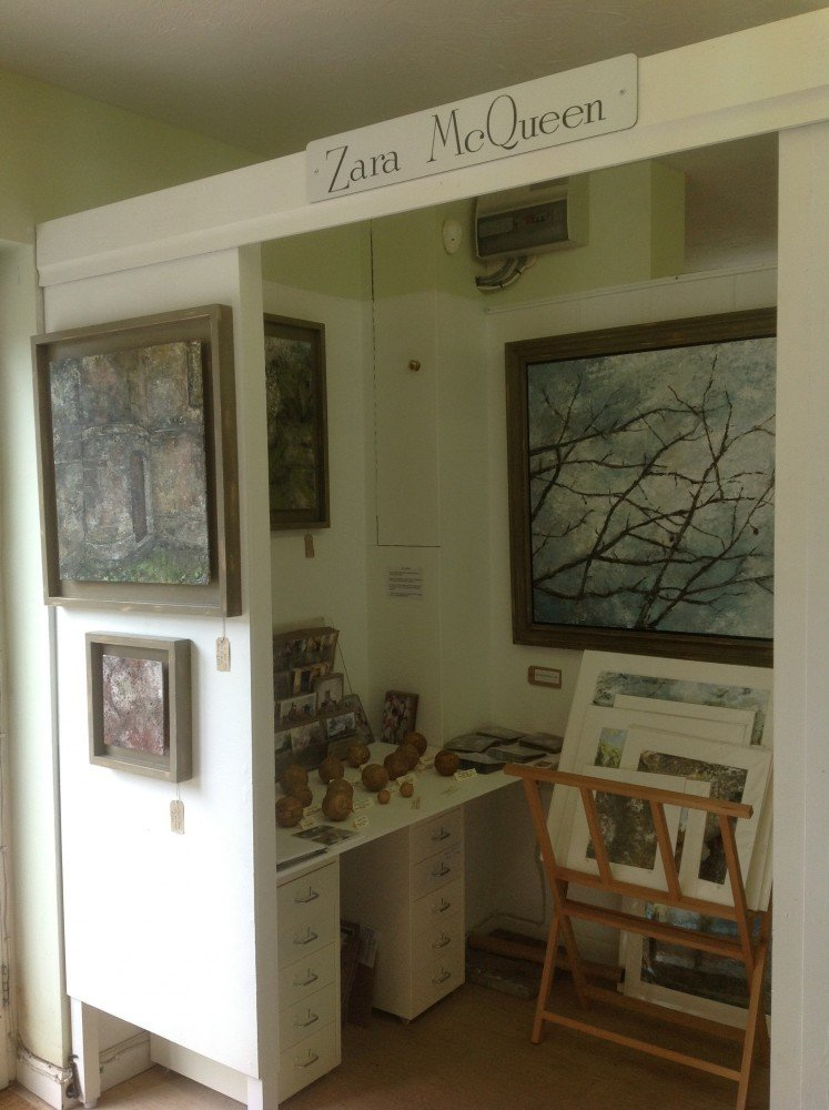My mini gallery at The Cygnet Shaftesbury