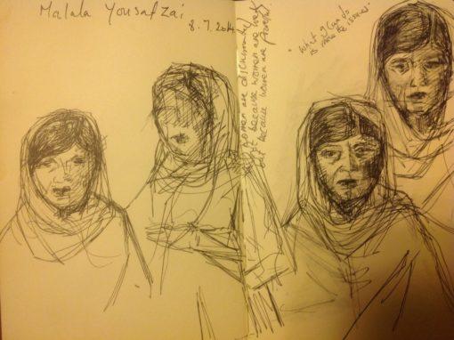 Malala Yousafzai – March 2014