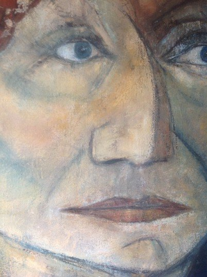 Funny face – detail