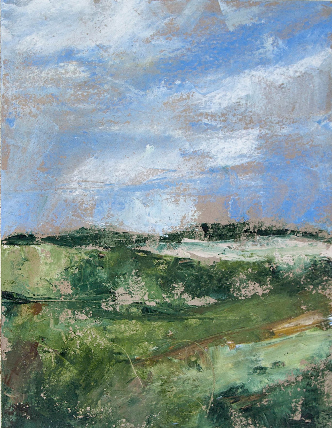 July (4) – Oil sketch