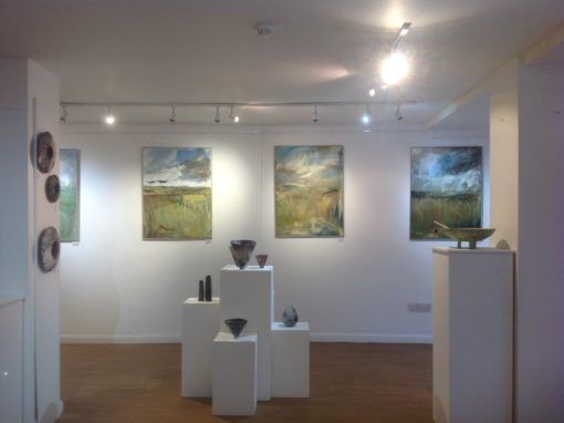 Exhibition – Painting, drawing, ceramics, December 2015